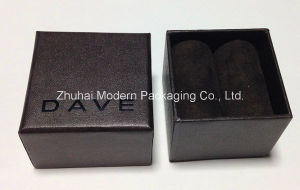 High Quality Rigid Cardboard Customized Logo Ring Box pictures & photos
