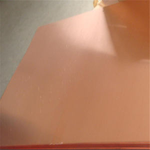 Oxygen Free Copper Sheet (C1020, C1100, c10200) pictures & photos
