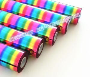 Hot Stamping Foil- Rain Bow/ Multicolor pictures & photos