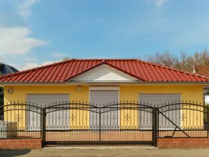 Residential/Commercial Multifunctional Wrought Iron Driveway Sliding Gate pictures & photos