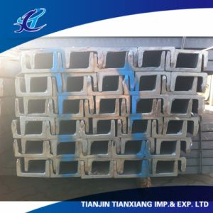 Building Material Q235B Profile Hot Rolled U Channel pictures & photos