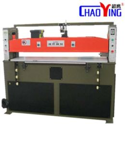 Leather Shoe Hydraulic Plane Cutting Machine pictures & photos