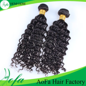 Best Quality 7A Unprocessed Deep Wave Tape Human Hair Wig pictures & photos
