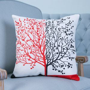 Digital Print Decorative Cushion/Pillow with Botanical&Floral Pattern (MX-34) pictures & photos