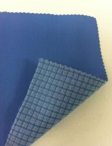 Jacquard Poly Bonded Rip Stop Polar Fleece Fabric