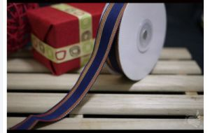 High Quality Custom Woven Ribbon Pink for Box Packaging pictures & photos