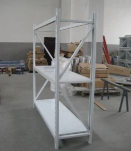Light Duty Warehouse Yuanda Roller Pallet Storage Rack with 100~200kg Capacity pictures & photos