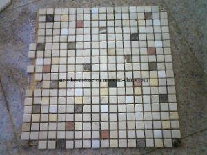 Patterned Marble Mosaic Floor Tiles