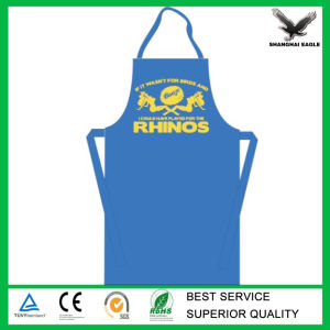 Promotional Christmas Yellow Cotton Canvas Apron Customized for BBQ Cooking pictures & photos