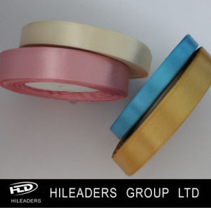 High Quality Woven Edge Polyester Satin Ribbon