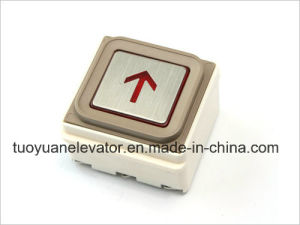 Toshiba Push Button with LED for Elevator Parts (TY-PB006) pictures & photos