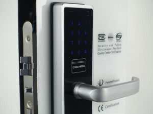 Electronic Door Lock (V-MR2015C-JH) pictures & photos