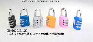 Colorful Combination Padlock, Padlock, Bag Lock (GH-8077) pictures & photos