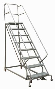 Industrial Steel Rolling Ladders (RL Series) pictures & photos