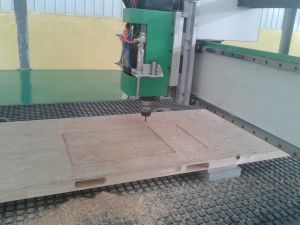 CNC Woodworking Milling Machinery Na-48d pictures & photos