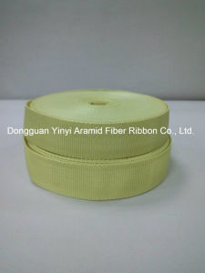 25mm Yellow Aramid Fiber Webbing for Garments&Accessories pictures & photos