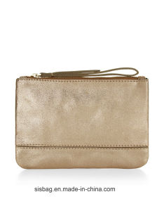 Designer Metallic PU Coin Purse Bag Promotion Mini Bag pictures & photos