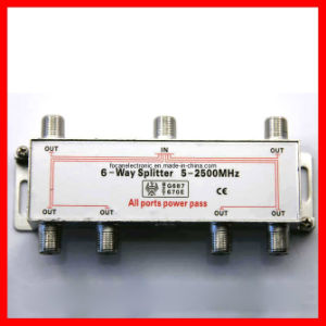 6 Ways 5-2400MHz CATV Splitter & 8 Ways 5-2500MHz Satellite Splitter pictures & photos