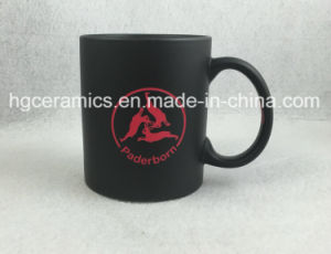 Sandblast with Color Change Coating Mug pictures & photos
