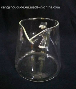 New Design Glass Tea Cup with Drinking pictures & photos