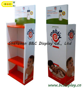 Bottle Cardboard Exhibition Stand / Paper Display Showcase Stand (B&C-A042) pictures & photos