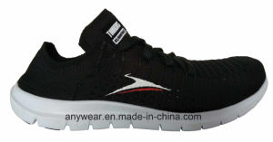 Flyknit Footwear Women Woven Gym Sports Running Shoes (516-6958) pictures & photos
