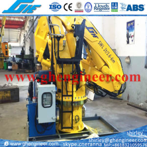 2t@6m Electric Hydraulic Marine Deck Crane pictures & photos