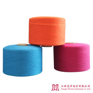 Recycled Color Cotton Carded Yarn (0-10s)
