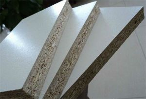 Melamine Faced Chipboard, Melamine Laminated Particle Board pictures & photos