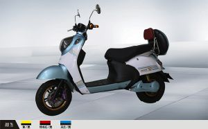 Cooling Electric Motorcycles Electric Scooters Ebikes 800W (HD800-G)
