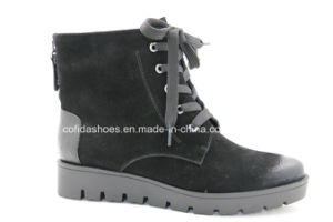Comfort Fashion Casual Women Leather Boots for Trendy Lady pictures & photos
