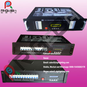 12CH Digital Dimmer DMX512 Controller Stage Light Dimmer pictures & photos