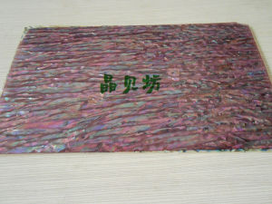 Red Abalone Shell Paper / Shell Sheet China Supplier