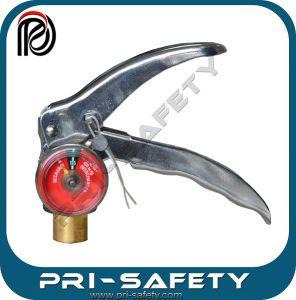 Fire Extinguisher Dry Powder Valve Pressure Gauge