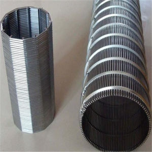 Cylinder Shape Stainless Steel Wedge Wire Screen Mesh pictures & photos