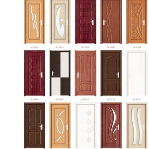 Internal MDF/PVC Doors for House Building pictures & photos