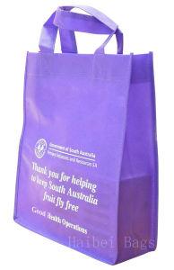 Purple Nonwoven Promotion Bag (hbnb-499) pictures & photos