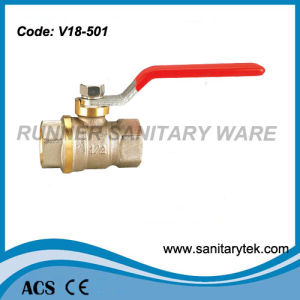 Brass Ball Valve for Full Port (V18-501) pictures & photos