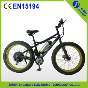 "36V Motor 26"" Fat Tire Electric Mountain Bike pictures & photos"