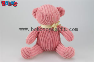 Fashion Design Pink Stuffed Teddy Bear Toy Without Eye Nose and Mouth pictures & photos