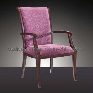 Imitate Wood Aluminium Dining Chair (DS-C1130)