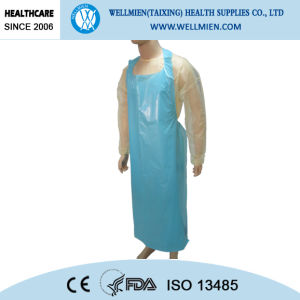 Disposable Plastic Aprons for Hospital or Food Industrial pictures & photos