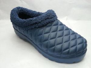 Women PVC EVA Warm Snow Boots with Fur (21il1501) pictures & photos