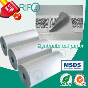 Flexographic Printable Grease Resistant Pearl Synthetic Film with RoHS MSDS pictures & photos