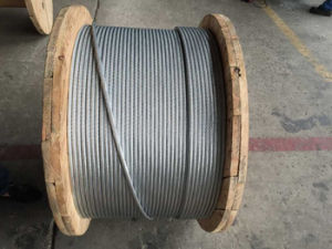 Bare Power Transmission Line Aluminium Conductor Steel Reinforced ACSR pictures & photos