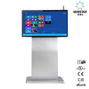 "32"" Network High Solution Floor Standing Information Kiosk pictures & photos"