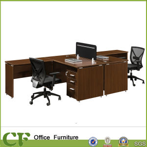 l shape 2 person office executive workstation for sale
