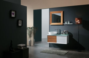 Modern Wall Mounted Drawer Mirror Medicine Bathroom Vanity Cabinet (NT048)