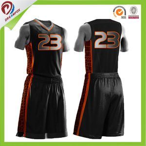 Sublimation Custom Cheap Wholesale Men′s Basketball Uniforms pictures & photos