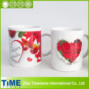 High Quality Ceramic Mug with Rose Design (15041102) pictures & photos